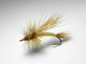 Golden stone dry fly